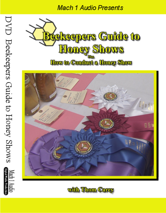 Beekeepers Guide to Honey Shows plus How to Conduct a Honey Show DVD front cover